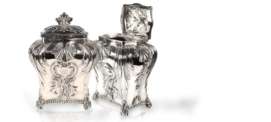 Victorian & Edwardian antique silver