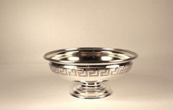 A Victorian sterling silver sweetmeat dish
