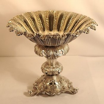A silver fruit bowl or comport - William 1V