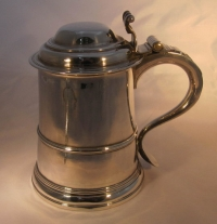 Antique silver Christmas Sale - Silver tankard