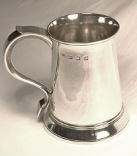 Antique Silver Mugs or Silver Tankards make superb gifts