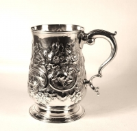 Antique Silver Christmas Gifts Countdown – Silver Tankard